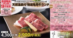 さくら_亀岡牛ランチ